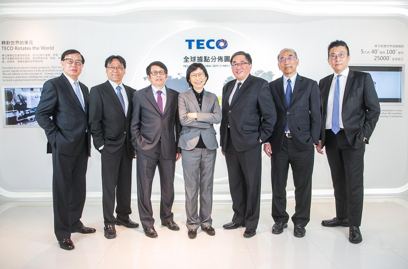 邱纯枝带领东元高阶团队亮相  瞄准机电、能源、空调三大发展领域