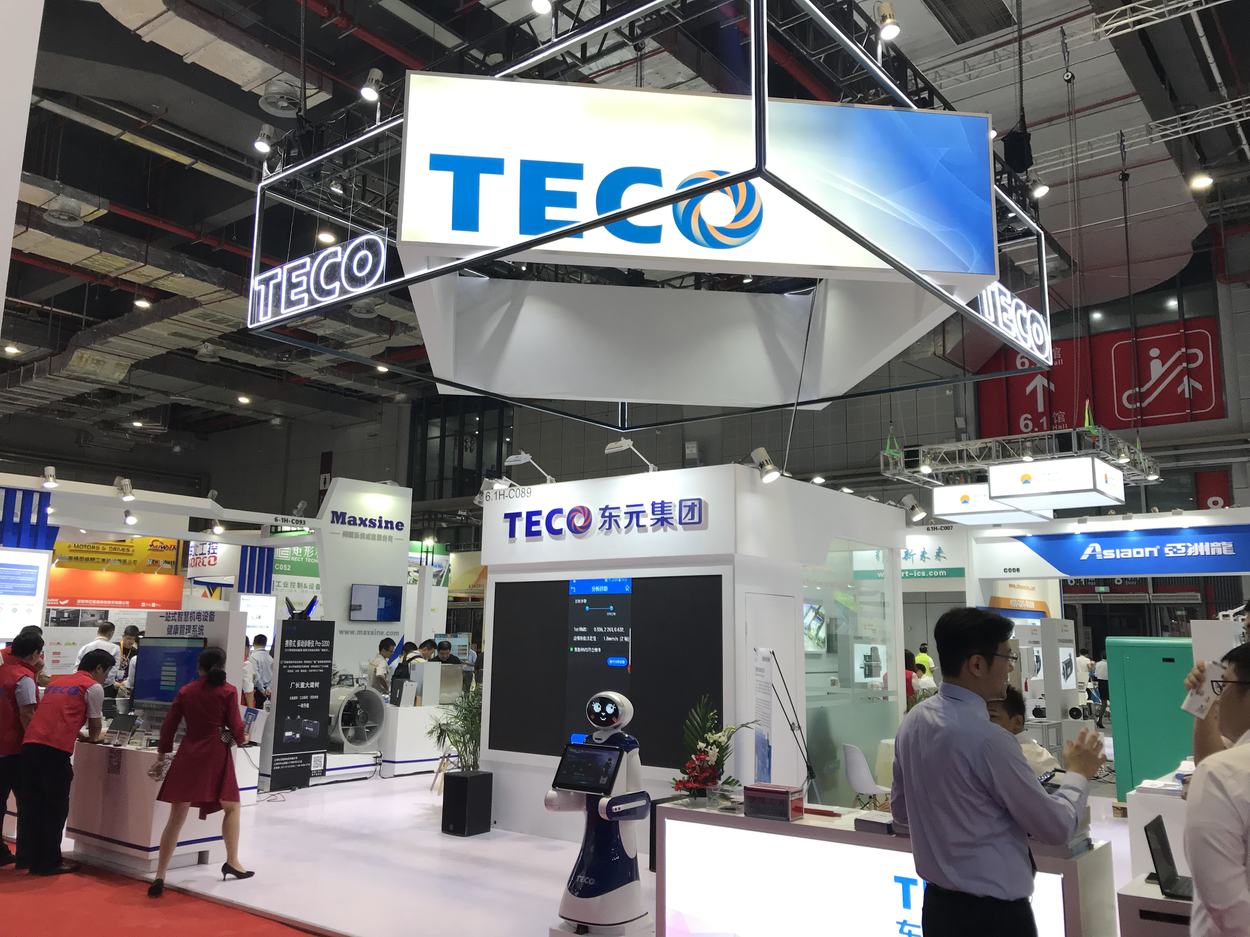 TECO Smart Manufacturing in the Spotlight at Shanghai Fair