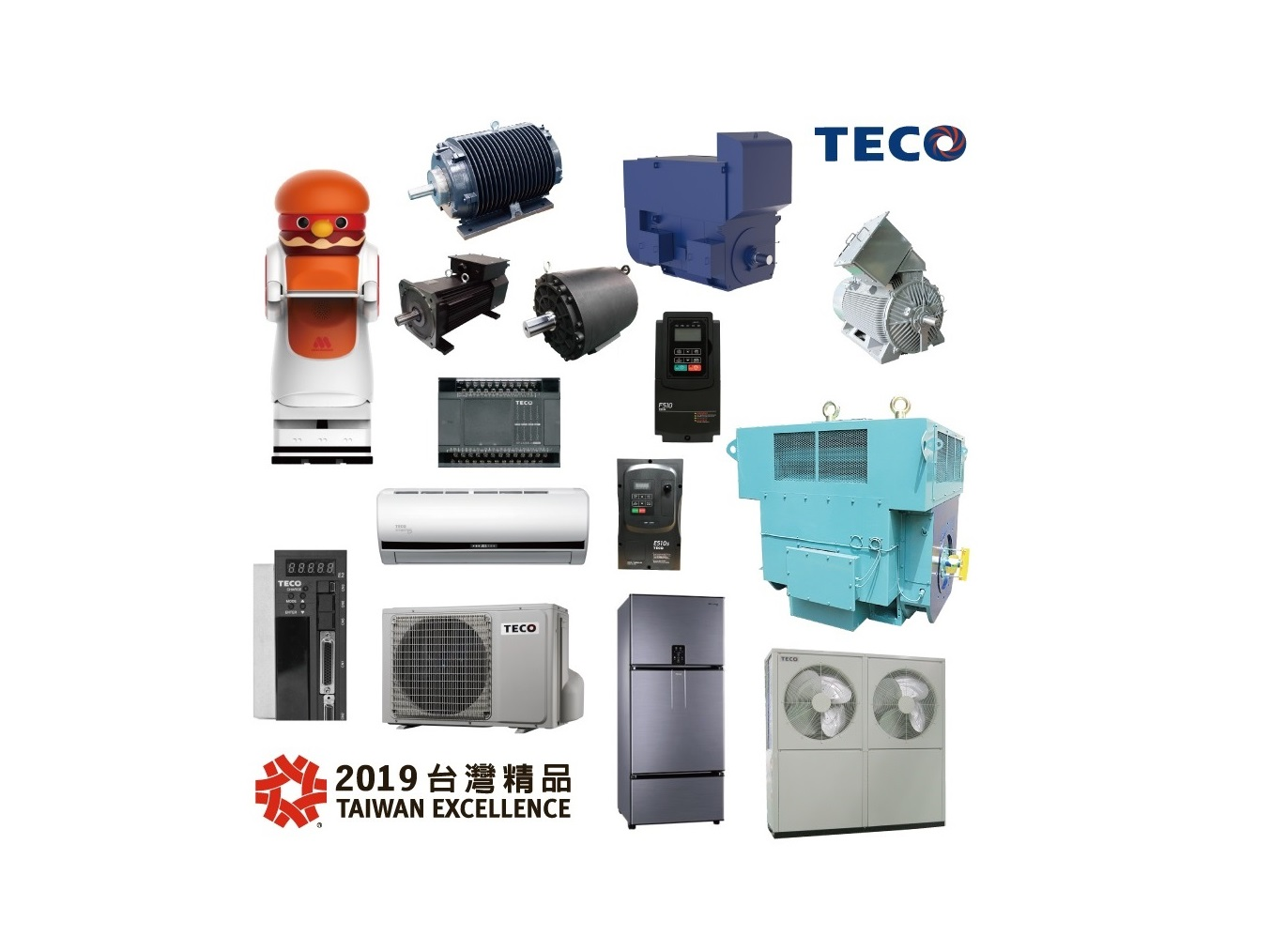 TECO Granted Taiwan Excellence Awards for 15 Products