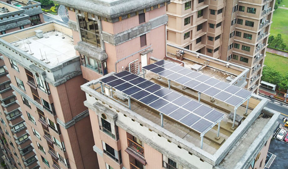 Communal micro-grid a smart community in New Taipei City in Taiwan